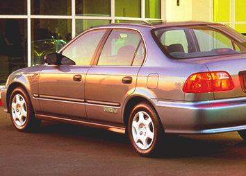 1998: The 1998 Honda Civic GX natural gas vehicle