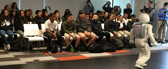 Bay Area STEAM Students Experience Honda Robotics