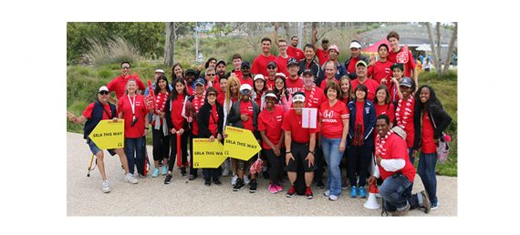 Honda Volunteers Support Students Running LA Marathon