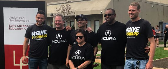 Acura and Columbus Crew SC Partner to Build Community Gardens