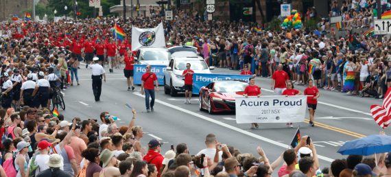 Honda Supports Pride Events in Columbus, Indy and Alabama