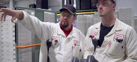 "Honda Team Leader Shows Environmental Commitment in ""Who Makes a Honda"" Video"