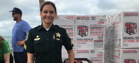 Honda Generators Provided to First Responders