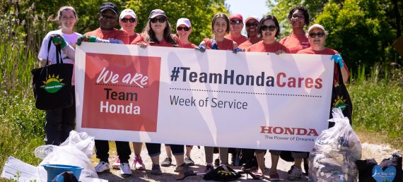 Team Honda Makes an Impact