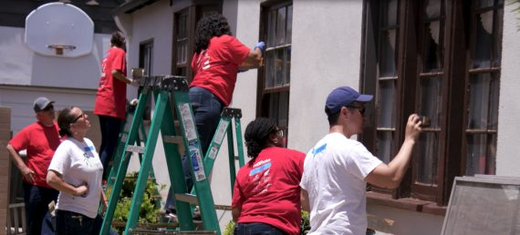 Team Honda Week of Service: Honda and Rebuilding Together