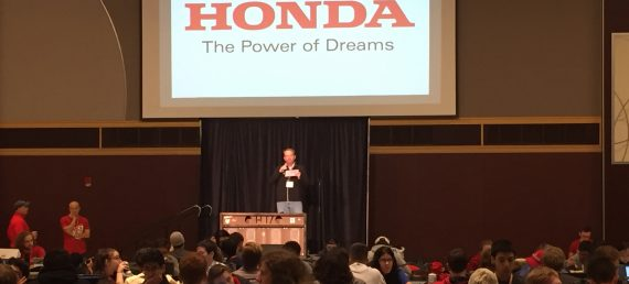 Honda R&D Associates Volunteer at OSU Hackathon