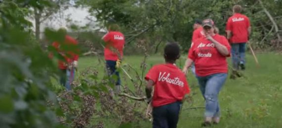 Week of Service: Honda of America Mfg. and Rebuilding Dayton