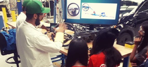 Students Learn About Manufacturing at Honda Canada Manufacturing