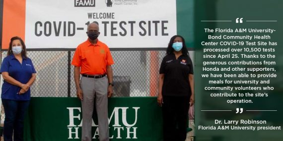 Honda and Historically Black Colleges and Universities Join Together to Combat the Pandemic