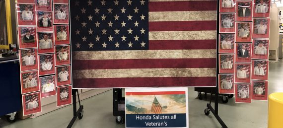 Honda Honors Veterans Across North America
