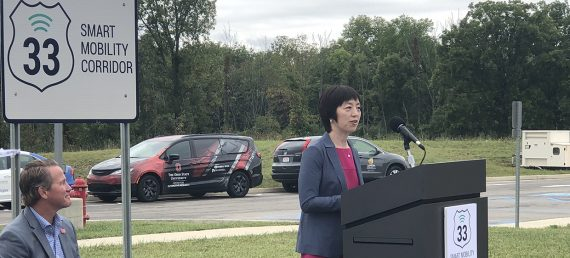 Smart Mobility Corridor Testing Connected Vehicles in Ohio