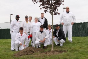 HTM Facilities and Adm Team - Tree Plant Participants